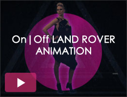 On|Off Land Rover animation